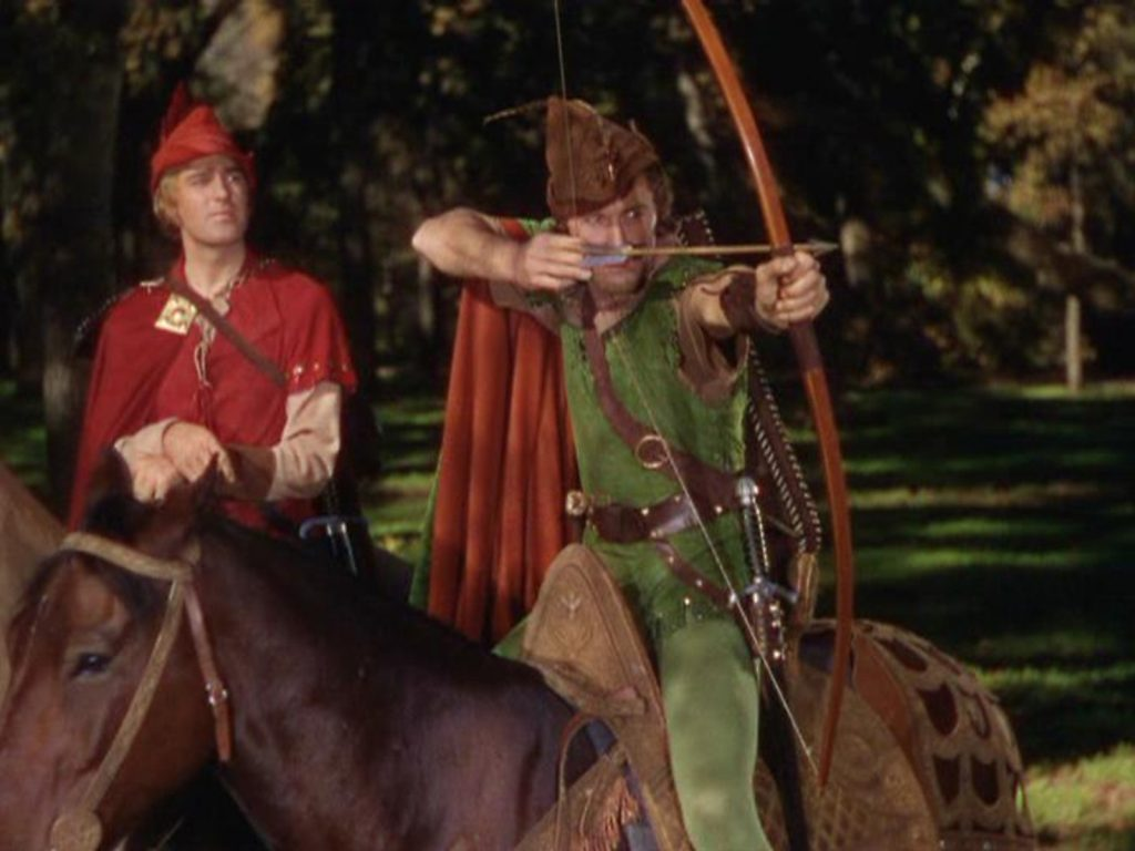 robin hood archer horse