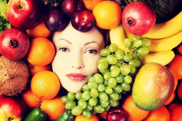 fruits buah banana apple