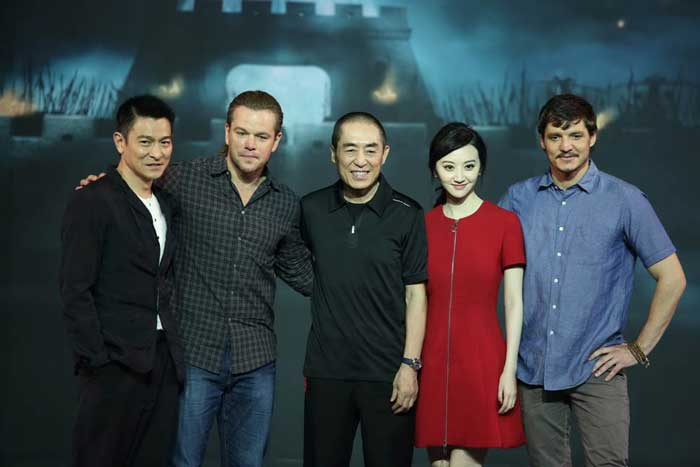 the great wall matt damon kulit putih