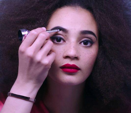 girl eyebrow cosmetics