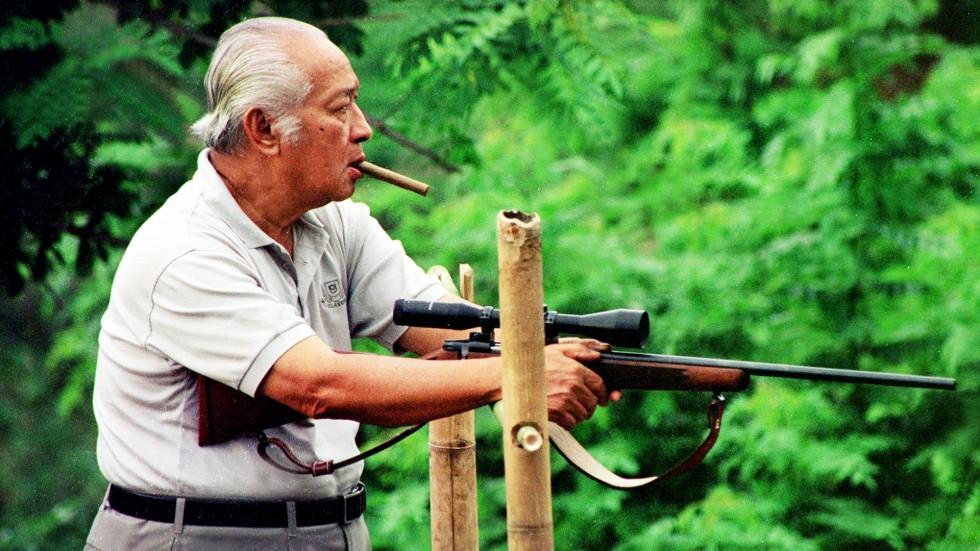 soeharto shooter gun sniper