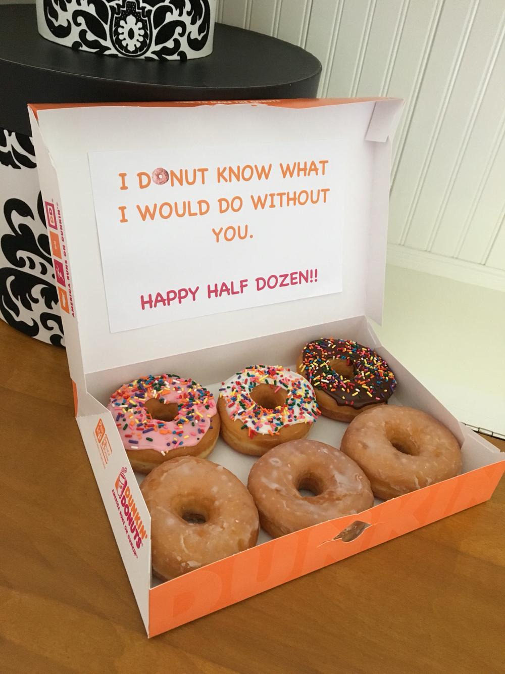 doughnut cookie gift valentine