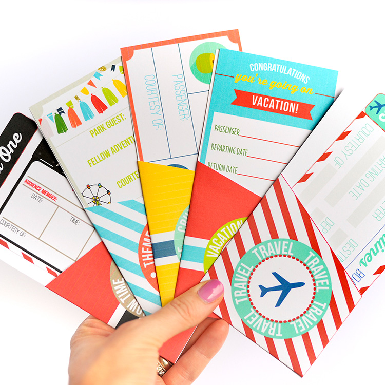 ticket travelling gift valentine holiday