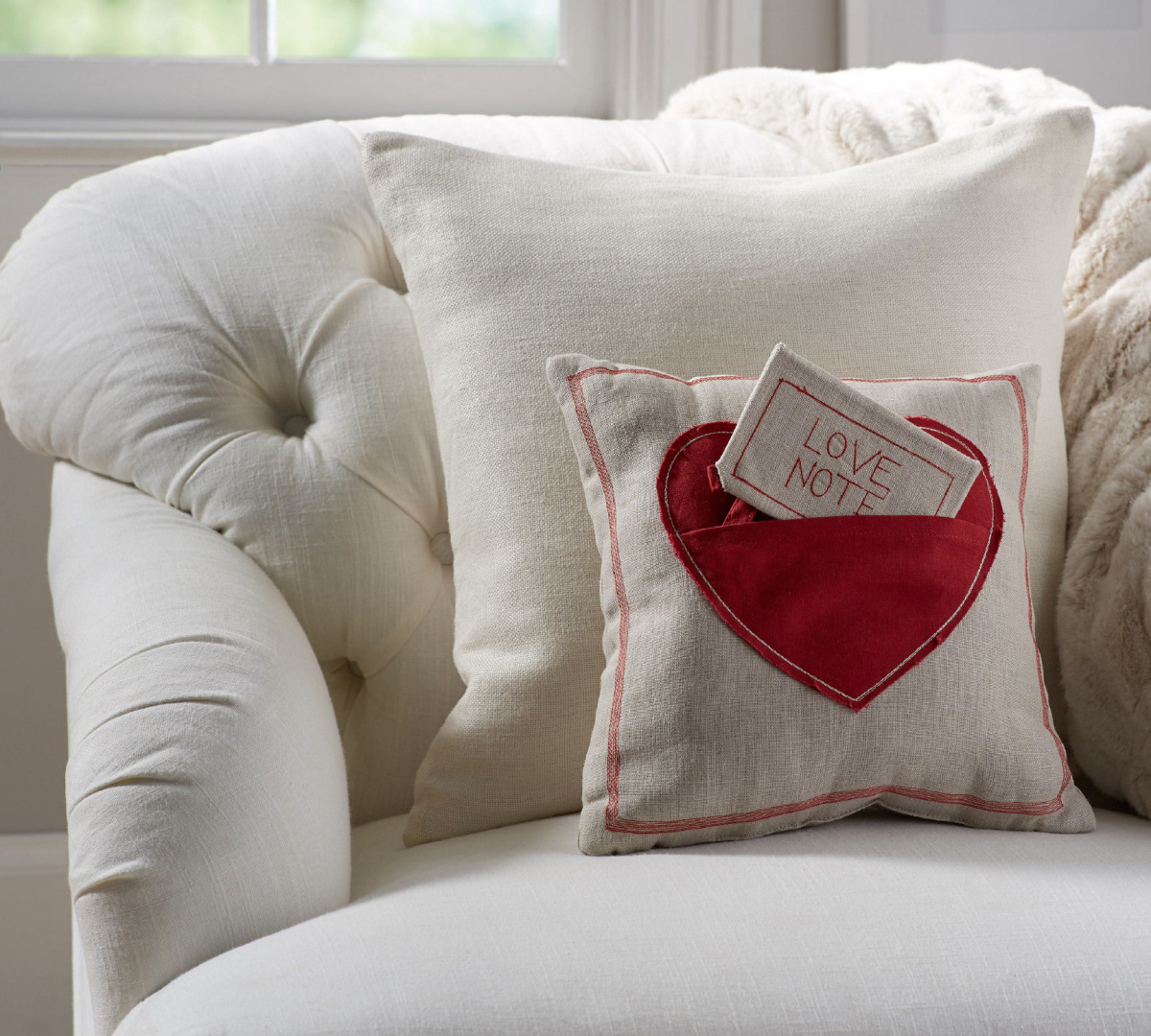 pillow bed love gift valentine