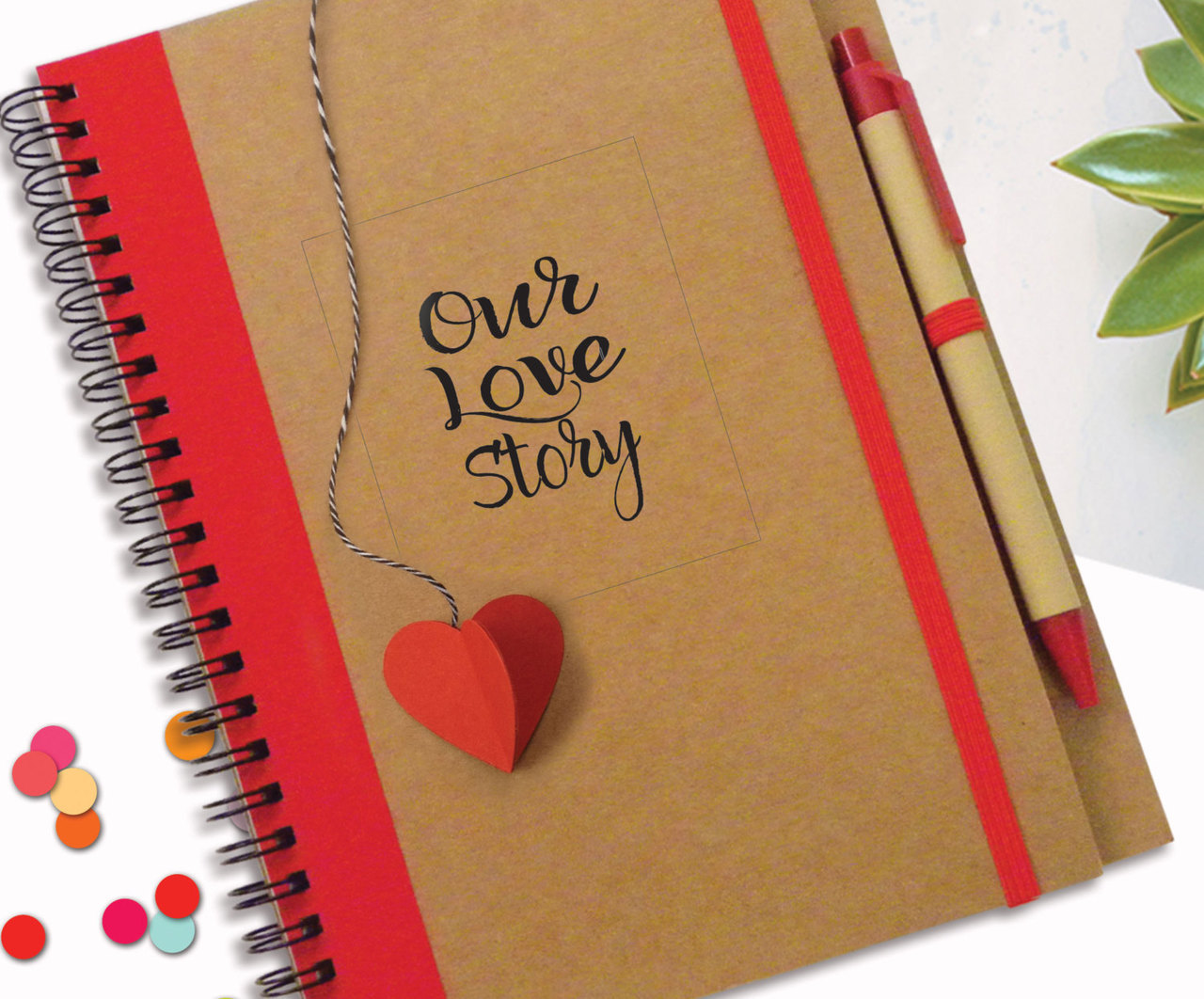 note book diary story gift valentine