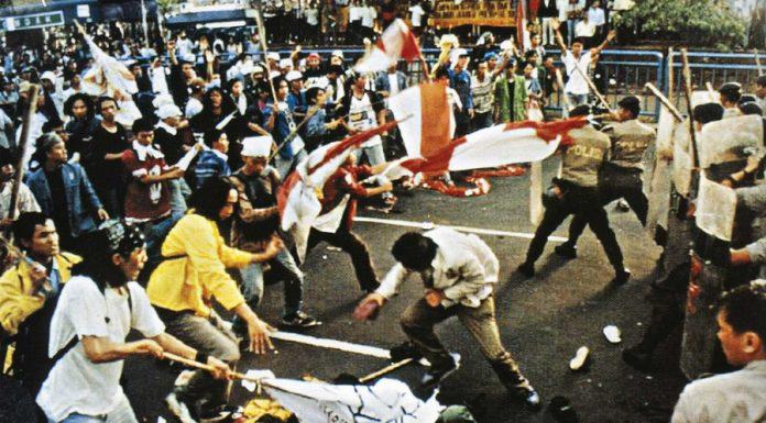 gejayan kelabu demonstrasi mahasiswa mei 1998 suharto
