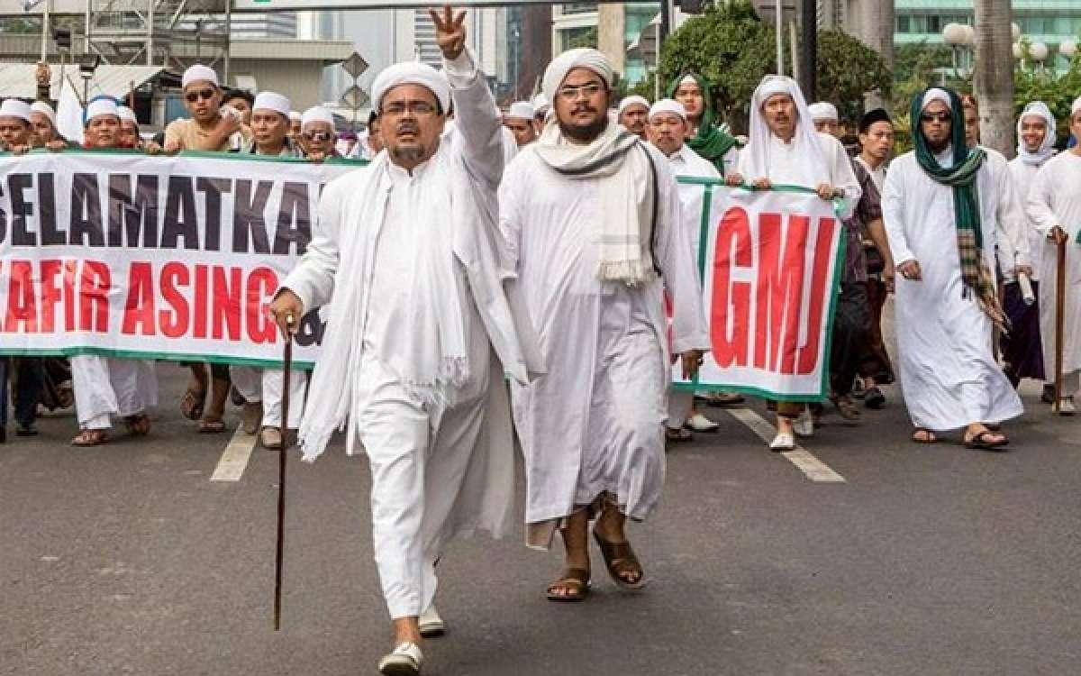habib riqieq fpi jokowi wiranto politik islam suharto pemerintah rakyat indonesia