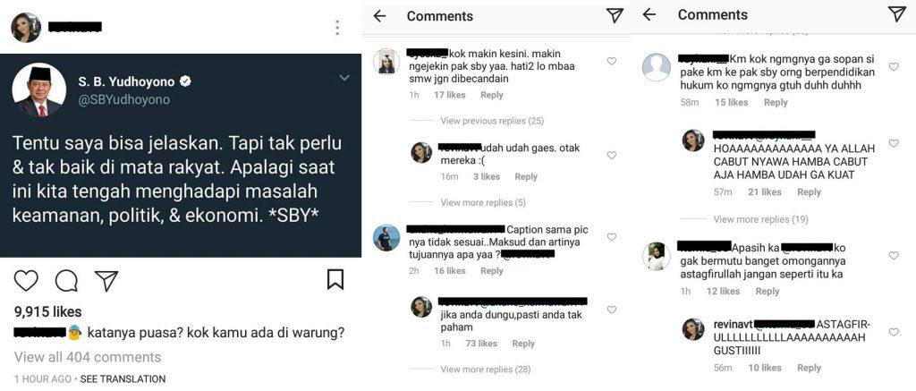 SBY jelaskan meme twitter isntagram