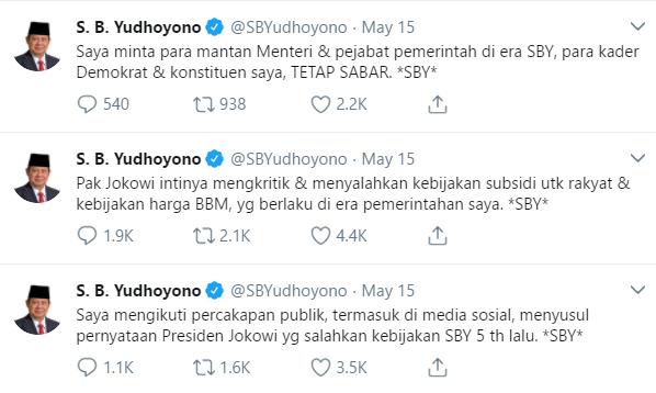 SBY meme twitter presiden