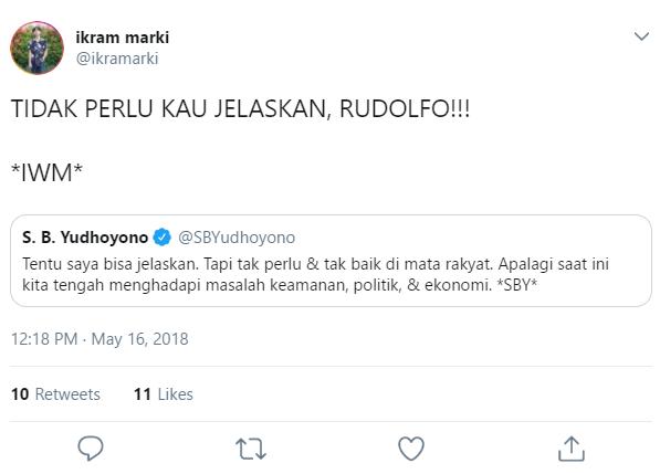 SBY meme twitter jelaskan