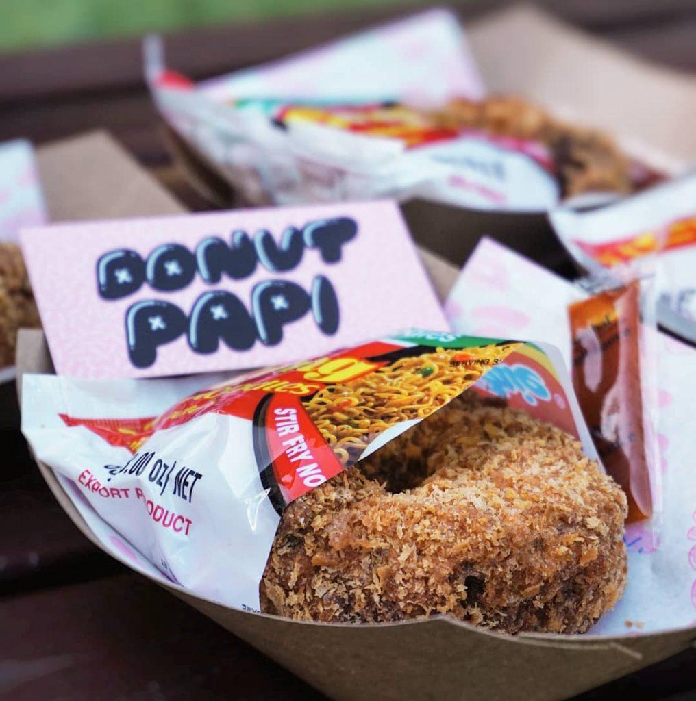 donat indomie donut papi snack indonesia australia