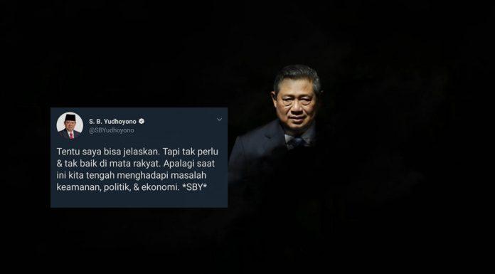 SBY jelaskan meme twitter