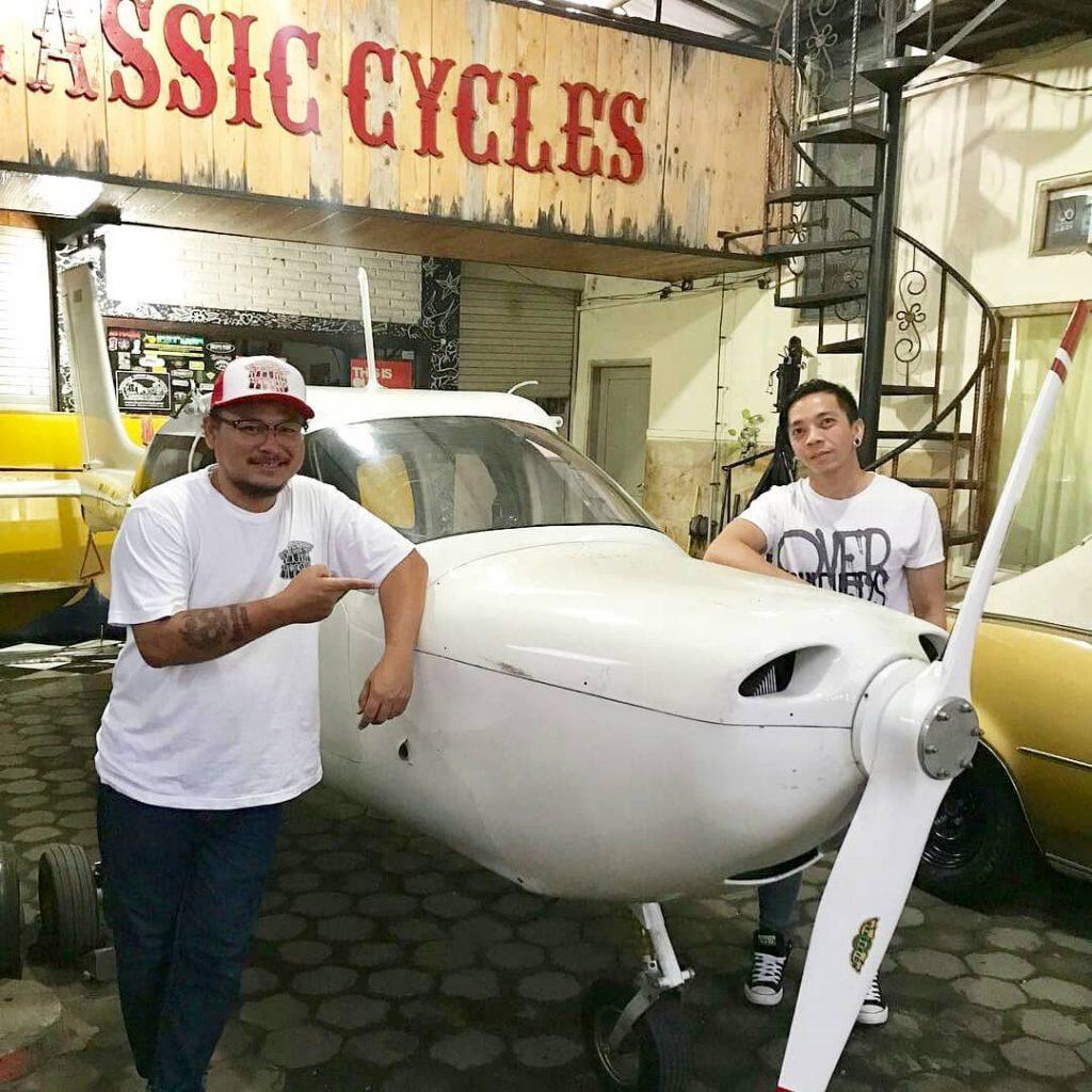 kustomfest 2018 plane pesawat jogja